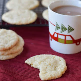 No-Chill Vegan Sugar Cookies.