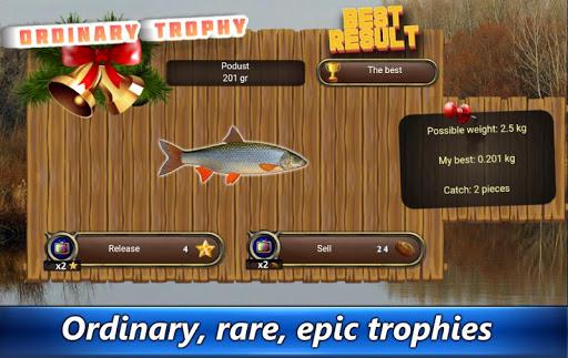 Fishing rain - fishing online  captures d'écran 2