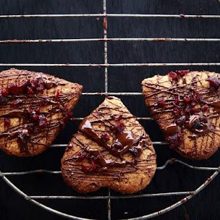 Chocolate & Cranberry Almond Cookies