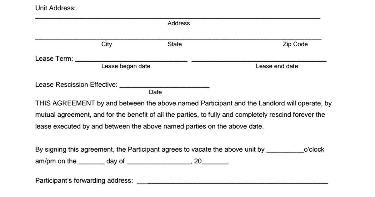 Mutual Rescission of Lease - TBRA pdf - Google Drive
