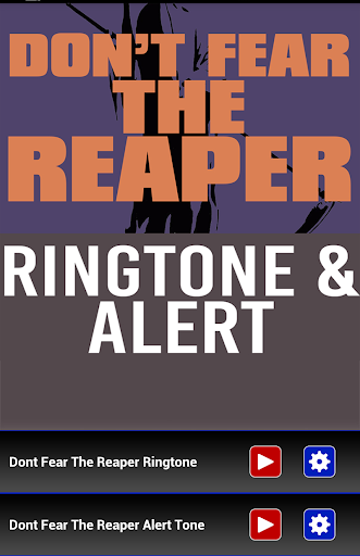 Don't Fear The Reaper Ringtone