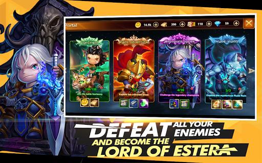 Code Triche Lord of Estera APK MOD screenshots 3