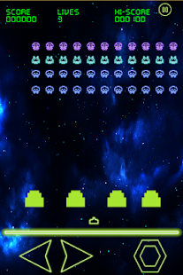 Glowing Invaders- screenshot thumbnail