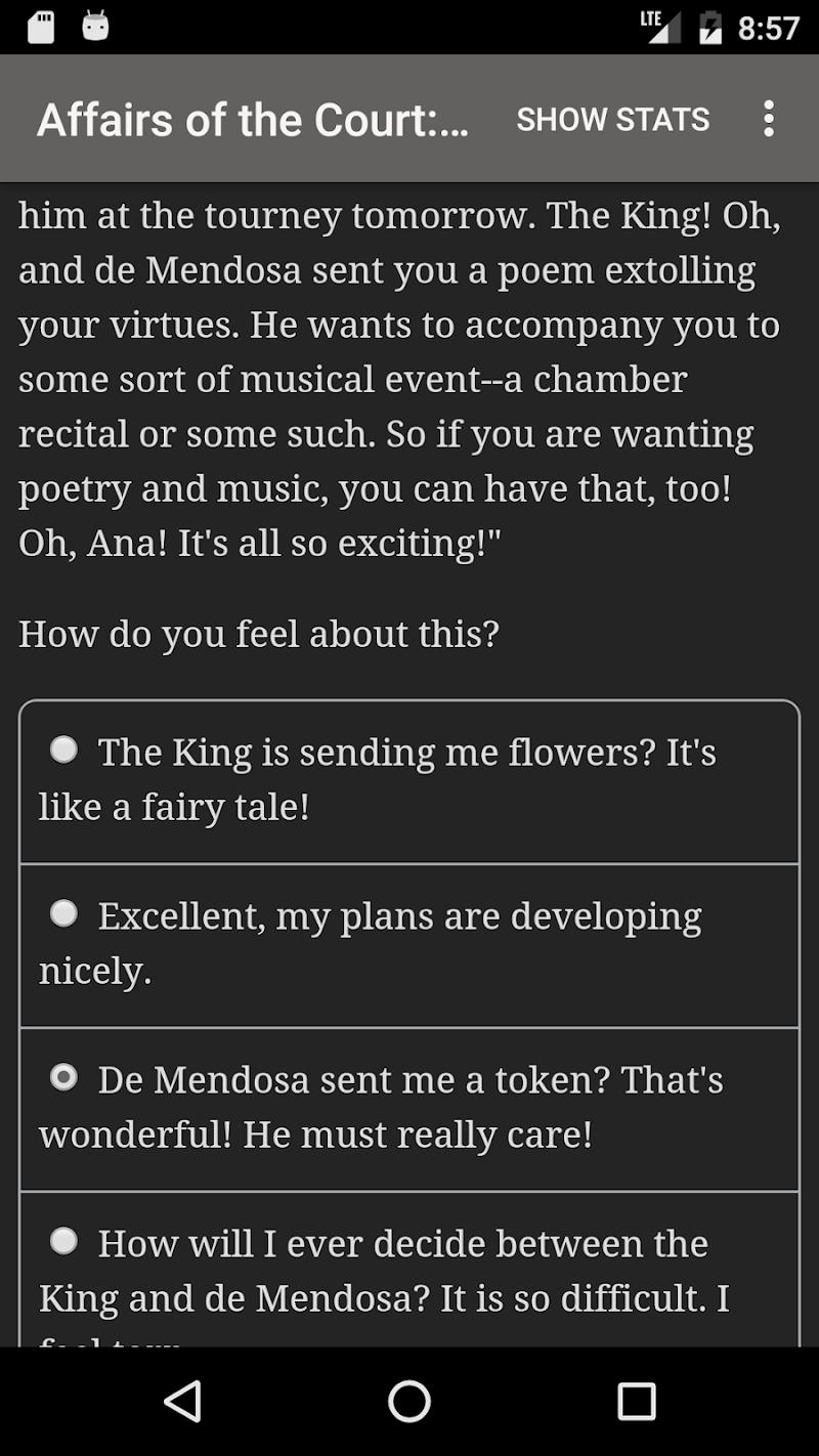 Affairs of the Court: Choice of Romance Screenshot 2