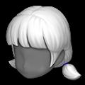 ラウラの髪型