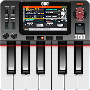 A complete musical keyboard with thousands of musical instruments and rhythms! APK Icon