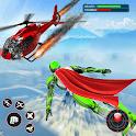 Light Speed Robot Hero - City Rescue Robot Games icon