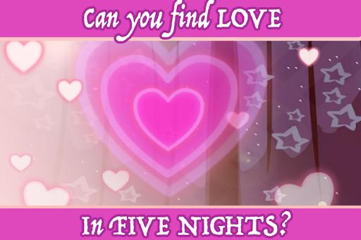 Five Nights Of Love Dating Sim