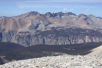 Photo: Kaweah Peaks from Mount Whitney