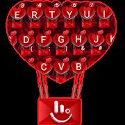 Romantic Red Rose Love Keyboard Theme