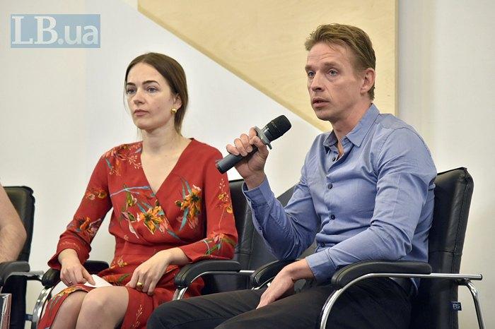 В'ячеслав Ліхачов та Олександра Матвійчук