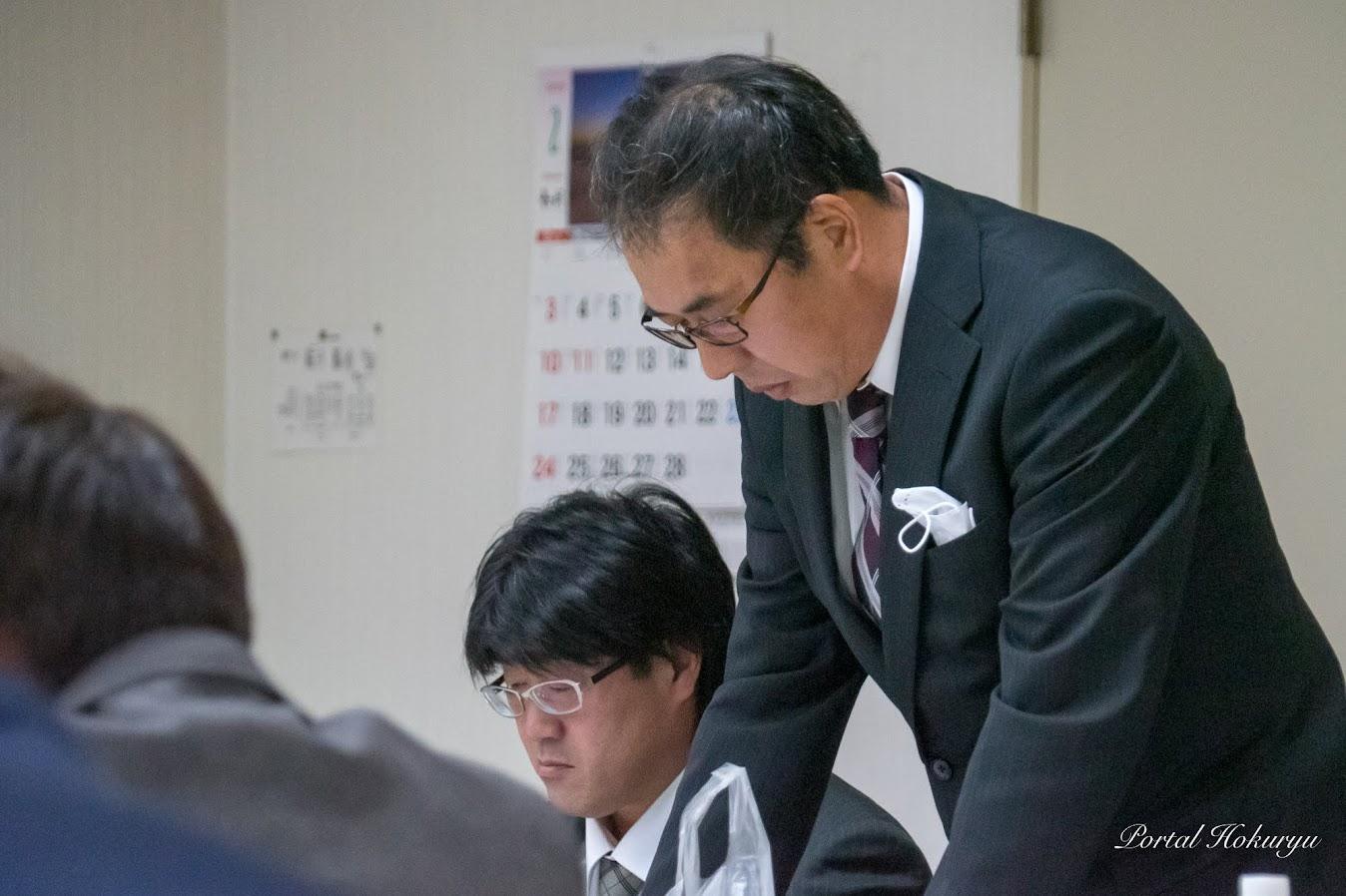 北竜メロン生産組合・渡辺恵一監事