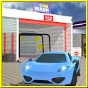 service station car wash 3d icon