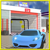 Service Station Car Wash 3D