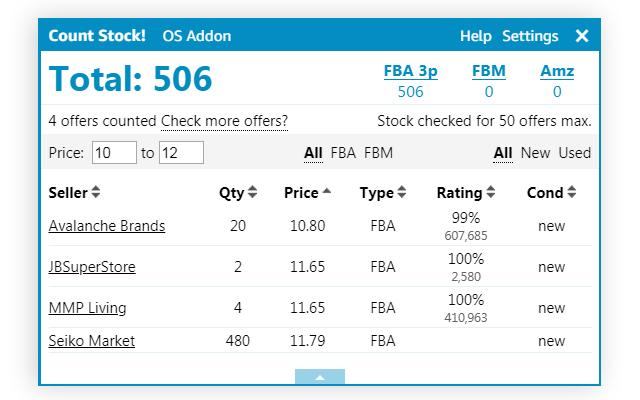 Online Seller Addon