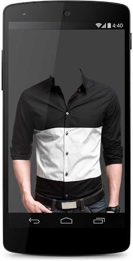 Man Shirt Photo Suit Maker