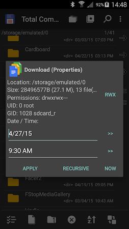 Total Commander - file manager 2.61 screenshot 24206