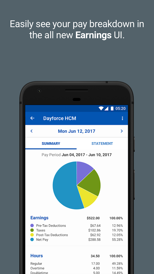 Dayforce HCM- screenshot