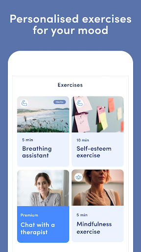 Online Therapy, Emotional diary, Mindfulness tools screenshot 4