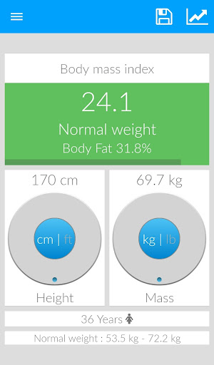 BMI - Weight Tracker +