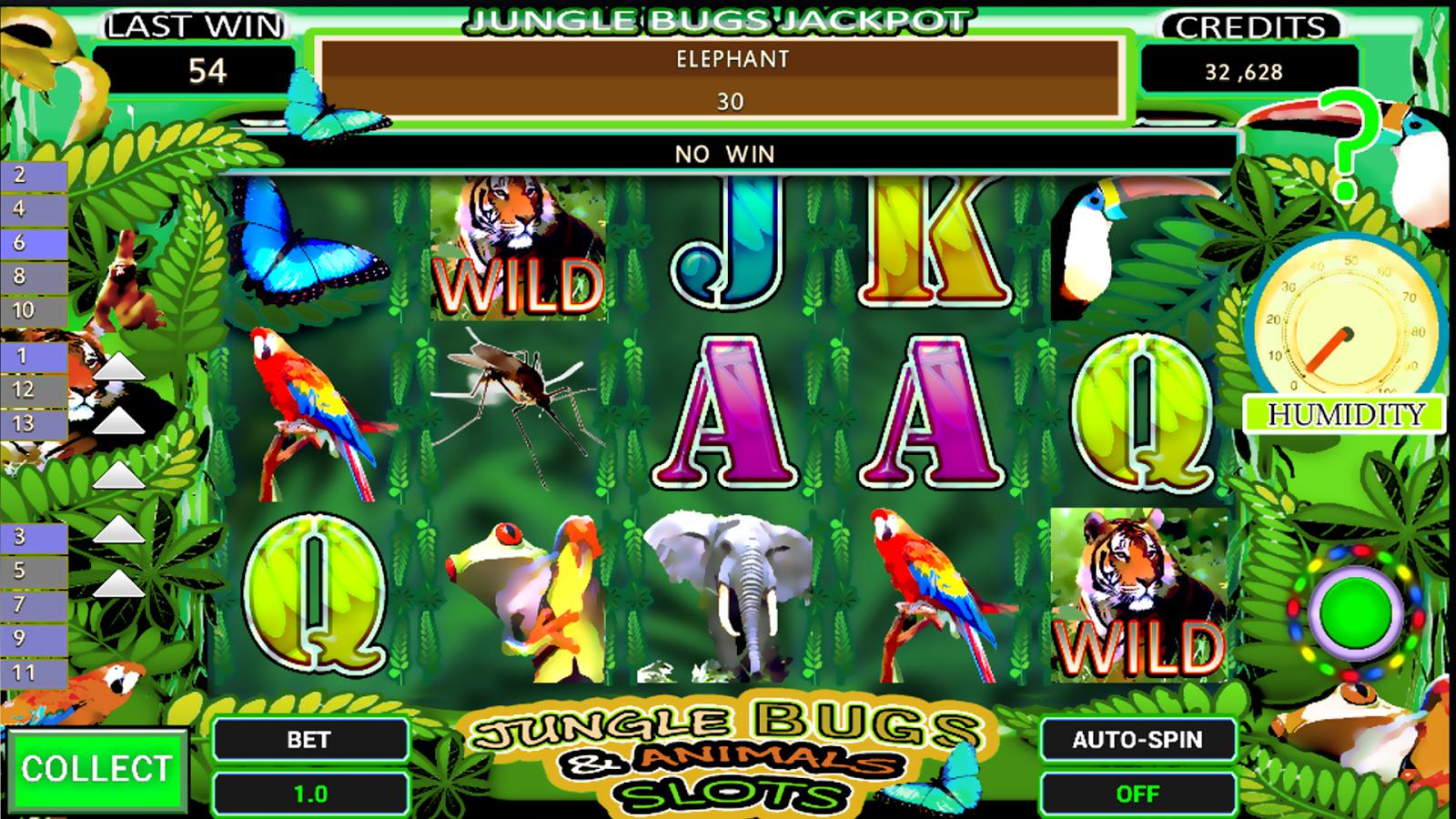 Bugs slot machine