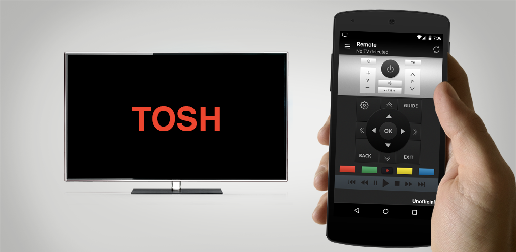 Remote for Toshiba TV