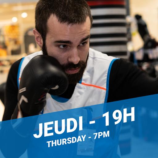Initiation à la boxe avec Noël -- Introduction to boxing with Noël
