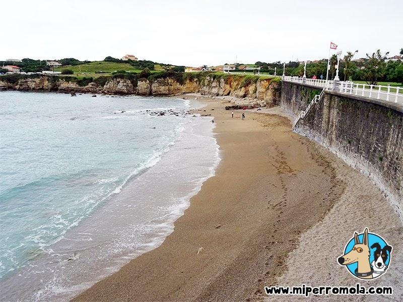 Playa el Rinconín en Gijón