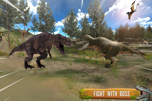 Dino Family Simulator: Jeux de dinosaures  captures d'u00e9cran 2