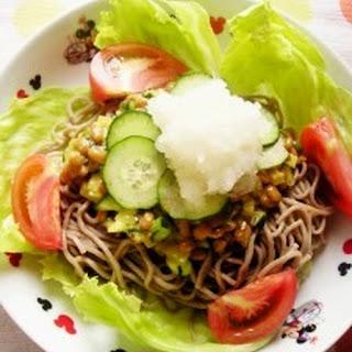 Natto Soba Noodles