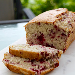 Coconut & Raspberry Bread.