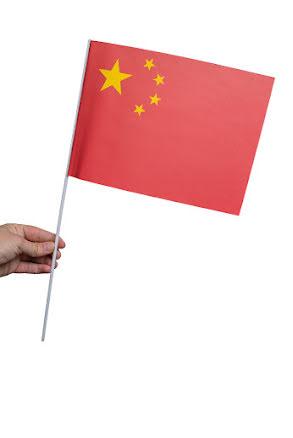 Pappersflagga, Kina