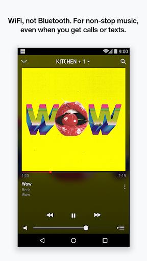 Sonos Controller for Android Screenshot