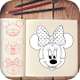 Learn to Draw Mickeu and Mouse APK icon