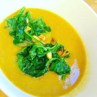 Spicy Butternut Squash Soup.