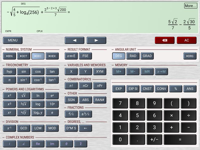 HiPER Calc Pro Screenshot 11