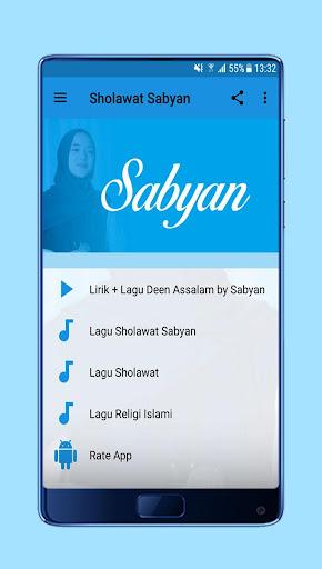Sholawat Deen Assalam Nissa Sabyan + Lirik 1.0 screenshots 2