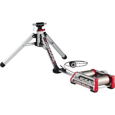 Minoura FG-540 Hybrid Roller: Front Fork Mounted Trainer with Roller Resistance Unit
