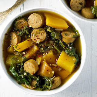 Turkey Sausage & Kale Soup Recipe