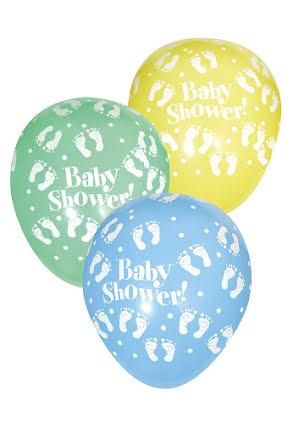 Ballong, Babyshower 6 st