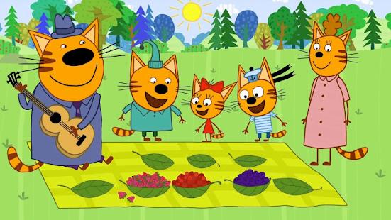 Три Кота Пикник от СТС! приключение! - náhled