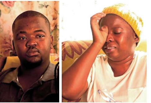 Nomfundo Galadile's son, Vuyisa, 21, and her daughter, Zintle, 27, are struggling to come to terms with her murder.
