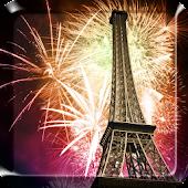 France Fireworks LiveWallpaper