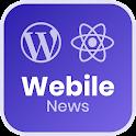 Webile News - React Native App icon