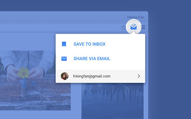 Screenshot of Inbox by Gmail for Chrome