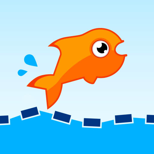 Jumping Fish Icon