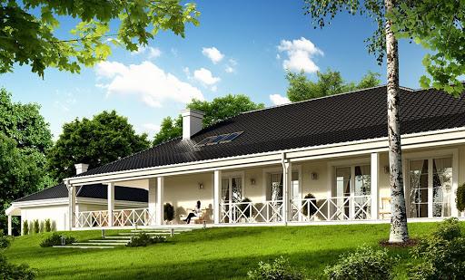 projekt Rezydencja parkowa 4