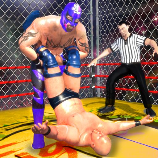 Wrestling Cage Championship : WRESTLING GAMES (game)