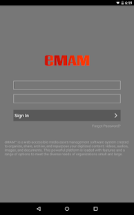 eMAM- screenshot thumbnail