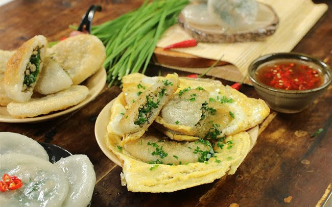 Tự tay làm bánh hẹ ăn vặt chẳng cần đến Đài Loan